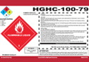 Industrial Chemical Labels